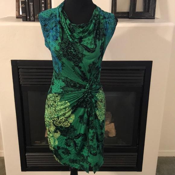 Desigual Dresses & Skirts - Size S - Desigual Short Sleeve Floral Dress